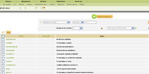 Servisní webová aplikace